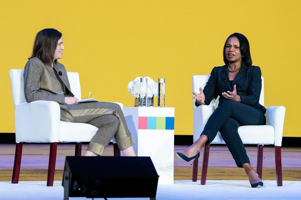 Former Secretary of State Dr. Condoleezza Rice