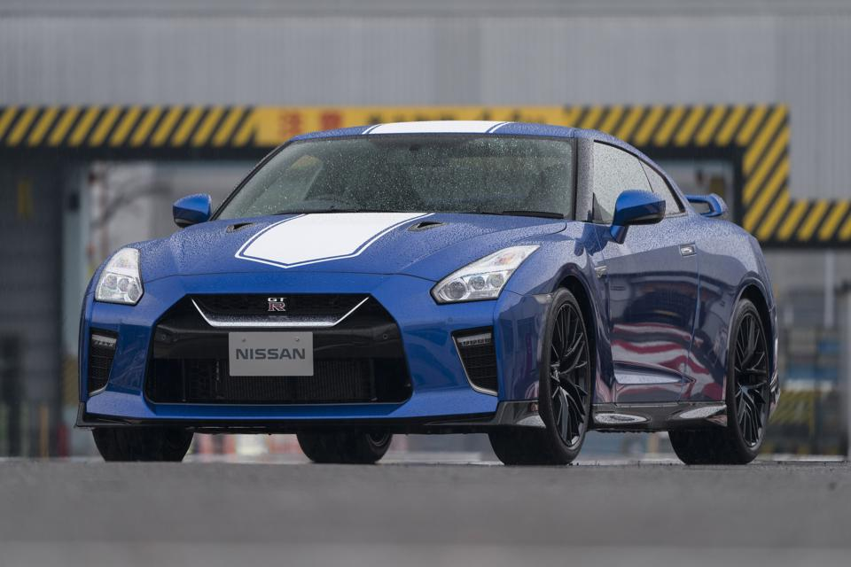 The 50th-Anniversary Nissan GT-R