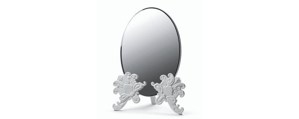 lladro vanity mirror