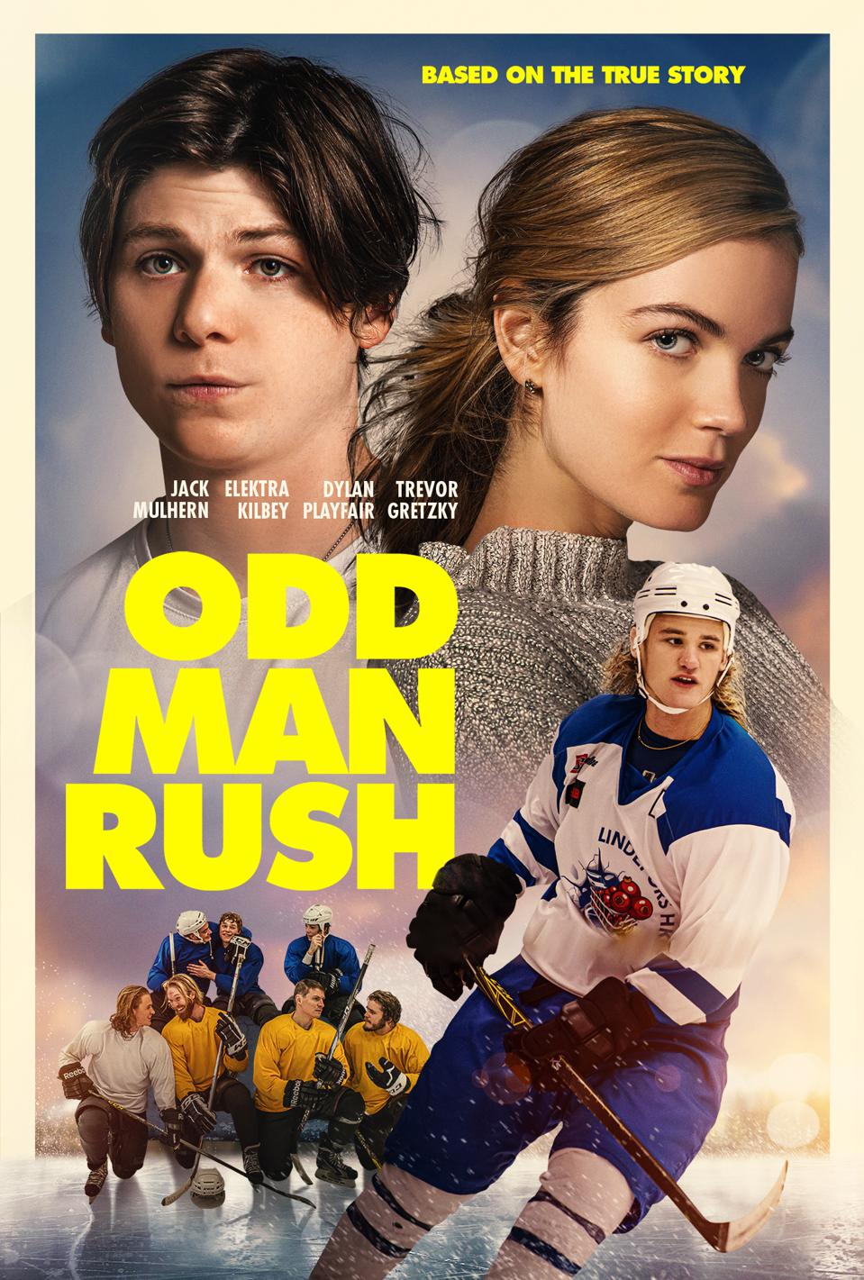 Odd Man Rush, the movie based on the 2016 book by Bill Keenan.