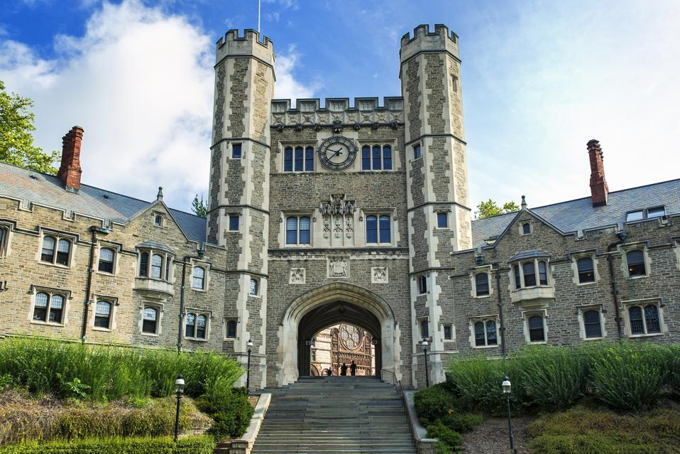 Blair Hall on the campus of Princeton University...