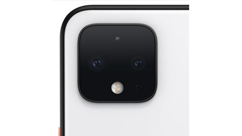 Google Pixel 4 rear camera.