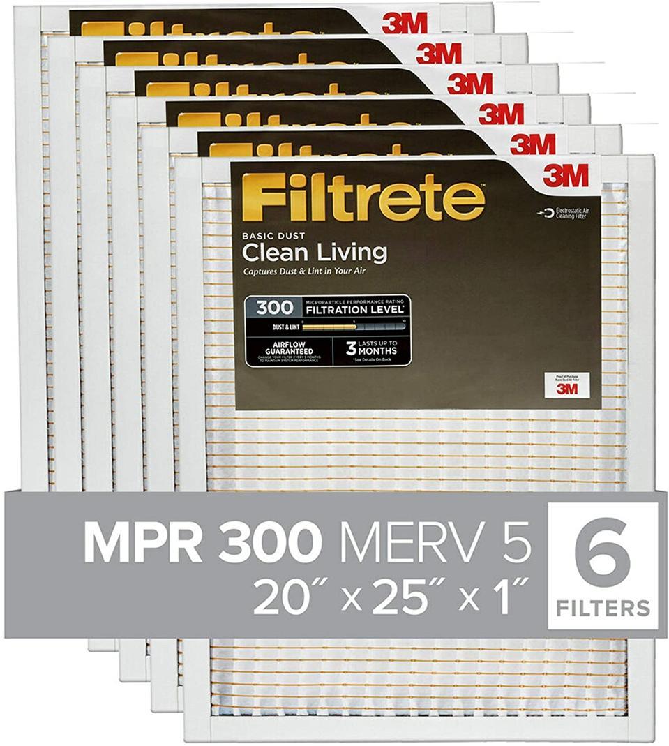 Filtrete AC Furnace Air Filter 6-Pack