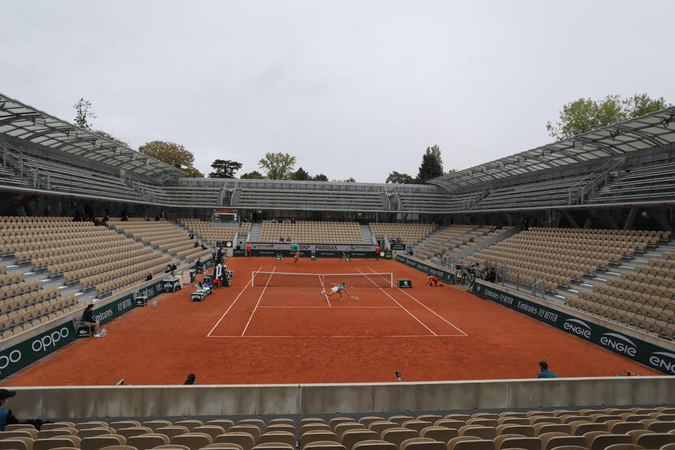 French Open Tennis. Roland-Garros 2020.
