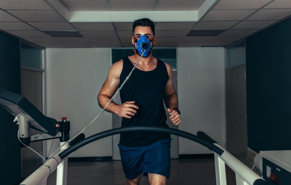 Physical activity makes you breathe faster and more deeply, which may produce more virus.