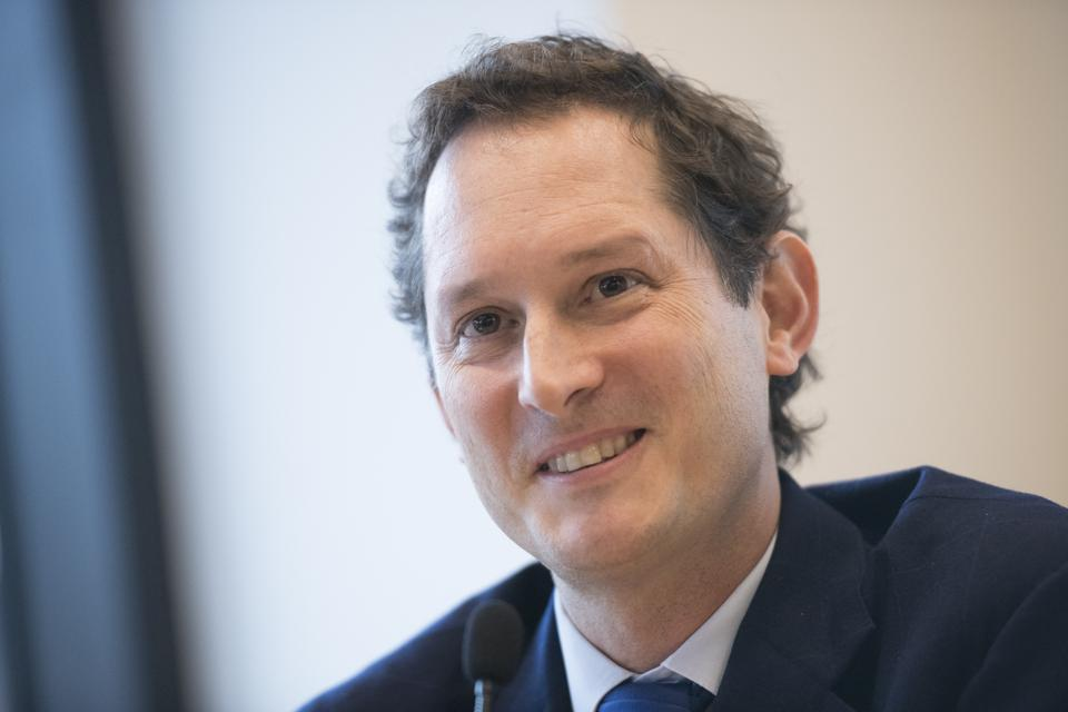 FCA Chairman John Elkann will take the same role in Stellantis after the merger with PSA.