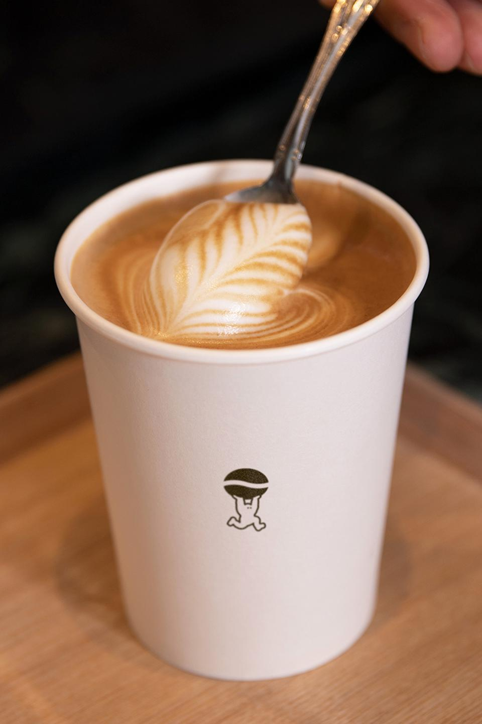 Hypebeans' menu draws inspirations from Hong Kong-style cafés to create contemporary beverages, crafted with a unique blend of coffee beans.