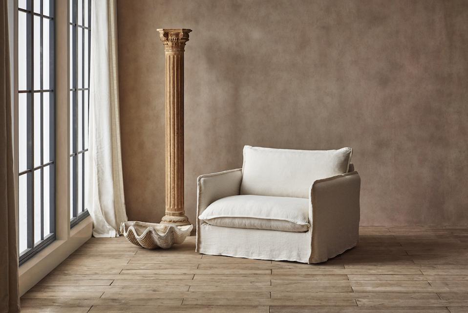 Neva chair upholstered