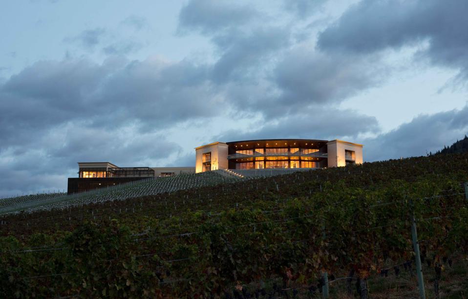 Phantom Creek winery in Canada's Okanagan Valley.