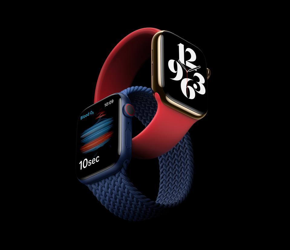 Apple Watch Series 6 marketing image