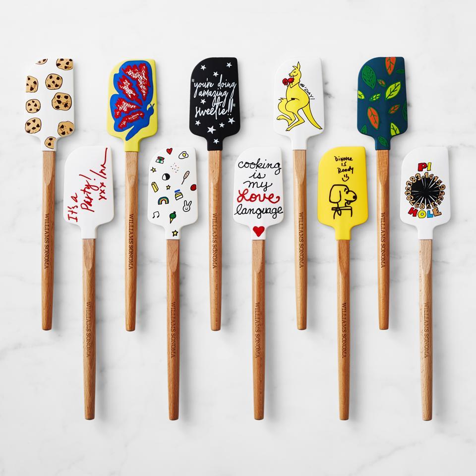 Williams Sonoma celebrity-designed spatulas