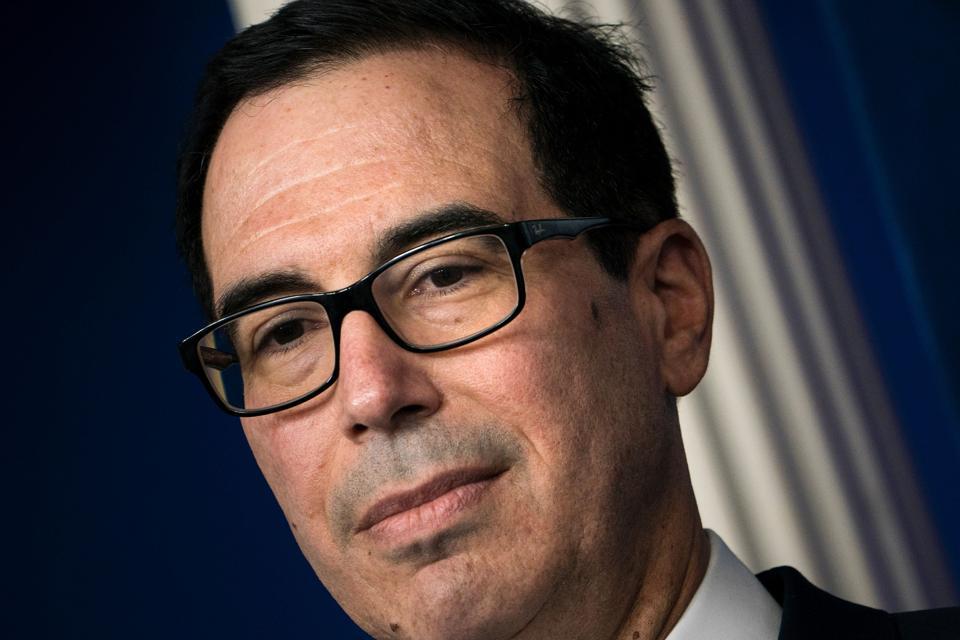 Treasury Secretary Steven Mnuchin said that $600 stimulus checks will arrive as fast as next week.