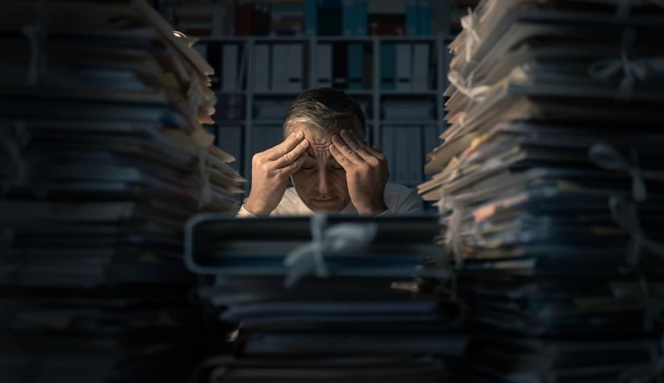 Overloaded bureaucrat