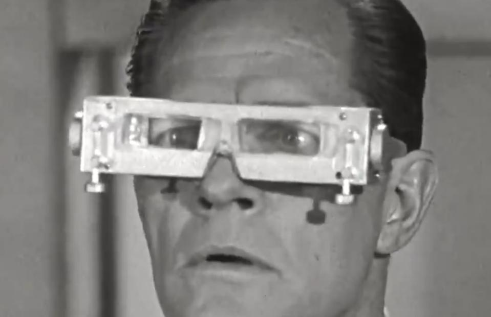 A screenshot from Facebook's introductory video for their Ray-Ban smartglasses: an example of what their solution will not be.