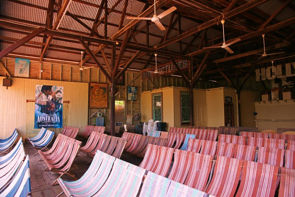 Grab a chair at Sun Pictures in Broome.