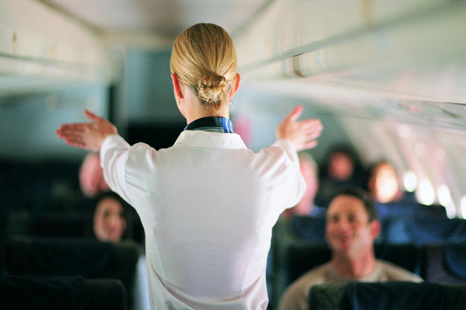 TikTok flight attendant airline hotel hacks