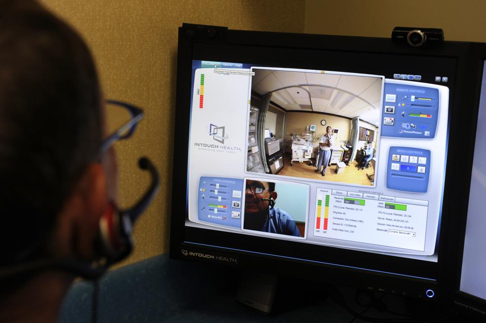 Rocky Mountain Hospital for Children is using video conferencing to help administer care.