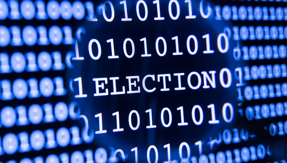 Election data magnified
