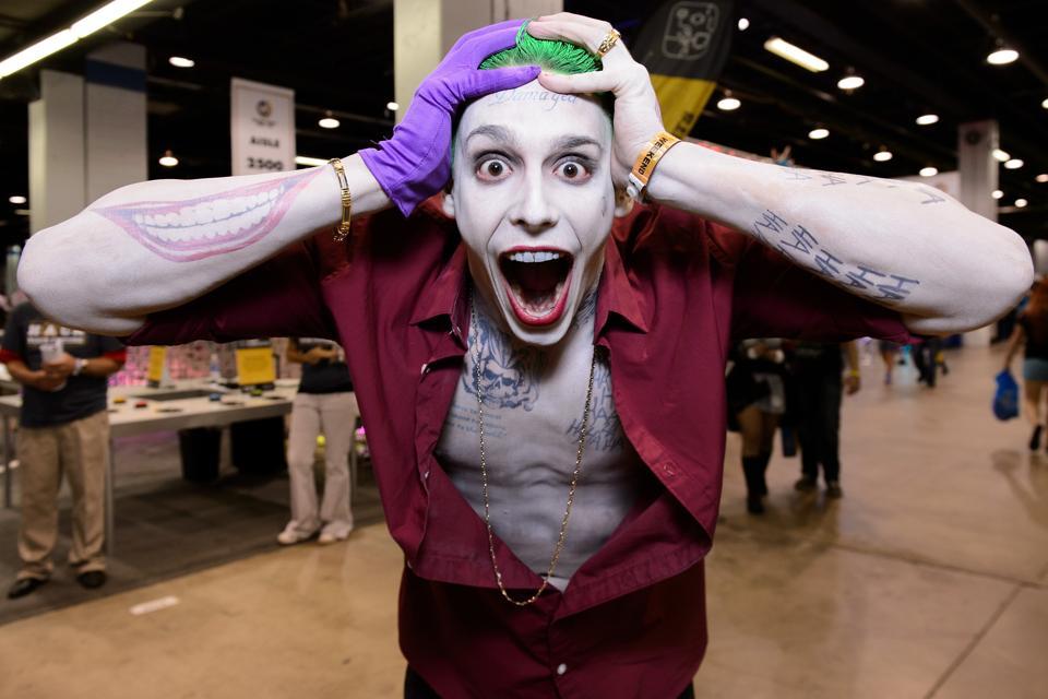 Wizard World Comic Con Chicago 2015 - The Joker