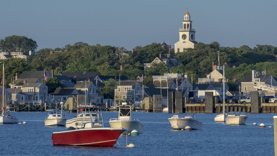 Nantucket Harbor morning