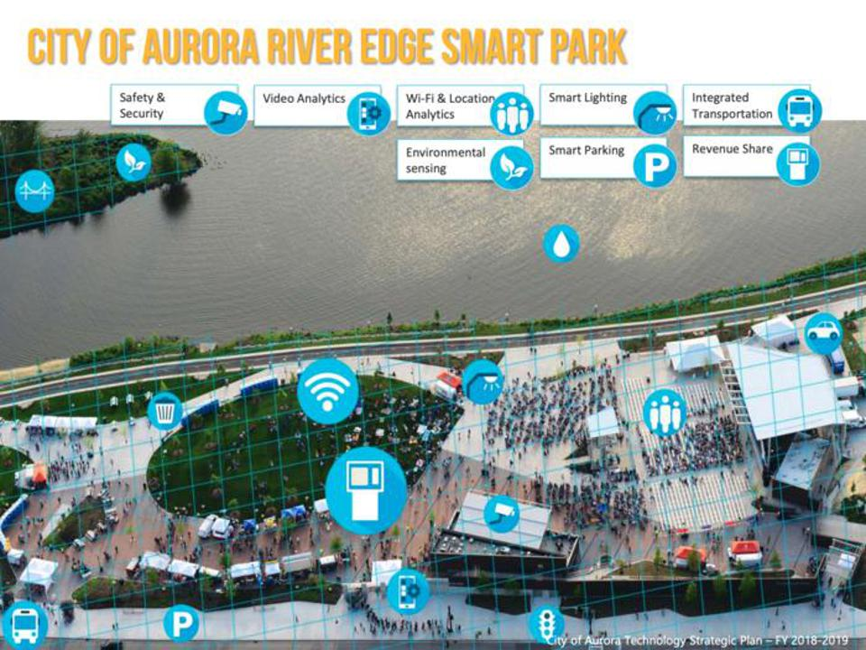 Technology will transform many parts of the city such as the River Edge Smart Park
