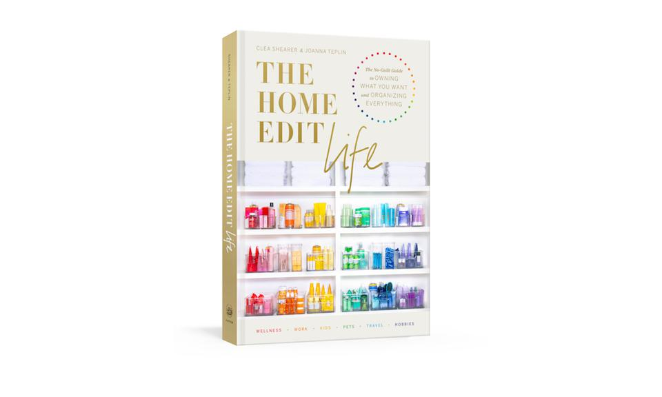 The home edit book product shot