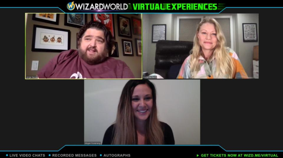 Virtual experience of Wizard World with the cast of 'Lost'