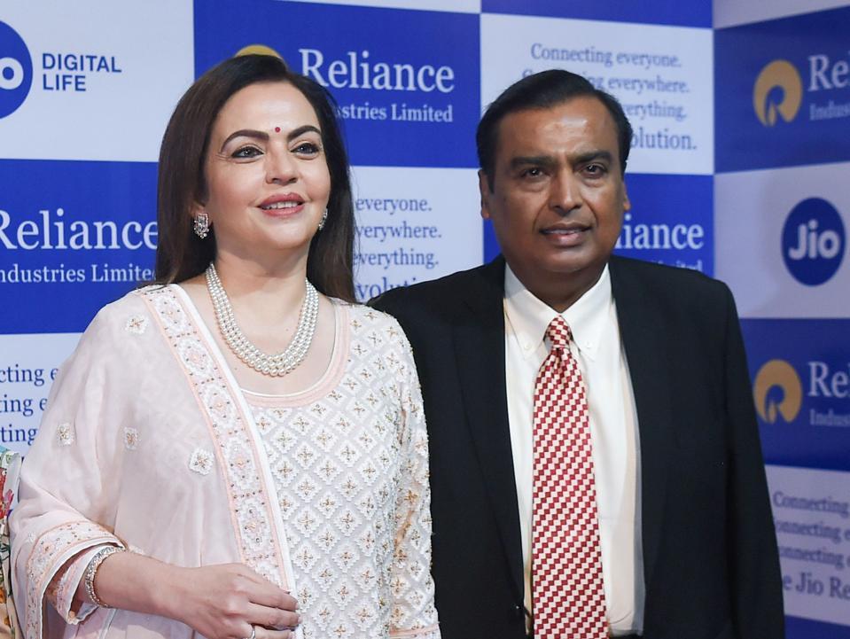 INDIA-ECONOMY-RELIANCE