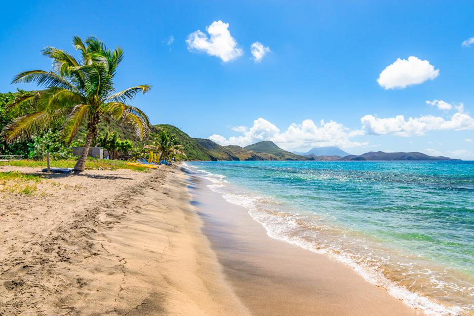 St Kitts and Nevis beach