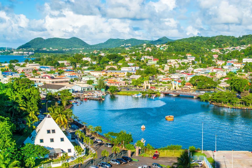 Castries, St Lucia, Caribbean