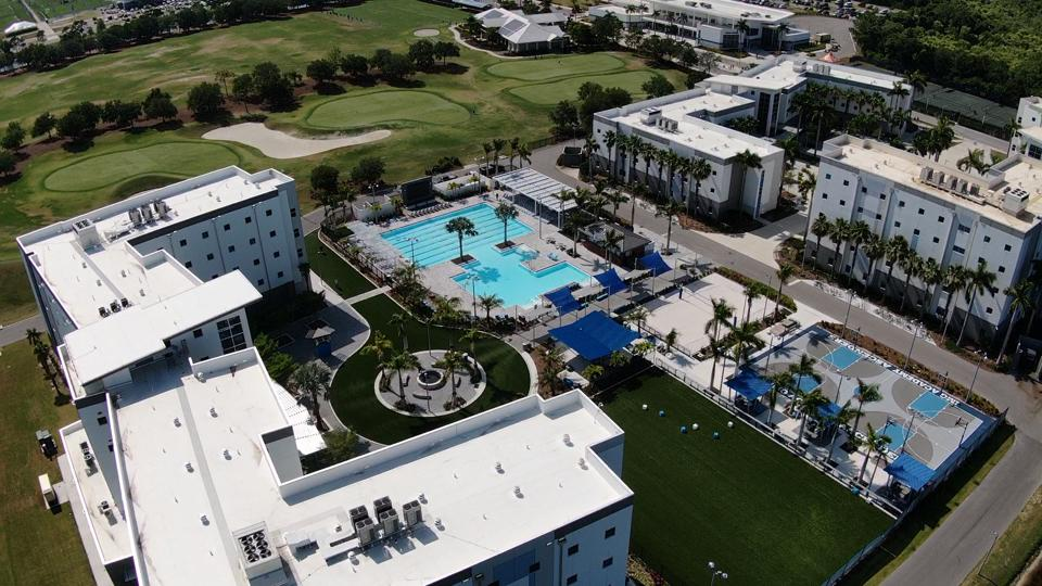 The campus of IMG Academy in Florida.