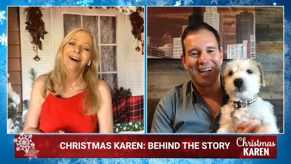 Writer Karen Schaler talks with director Jeff Fisher