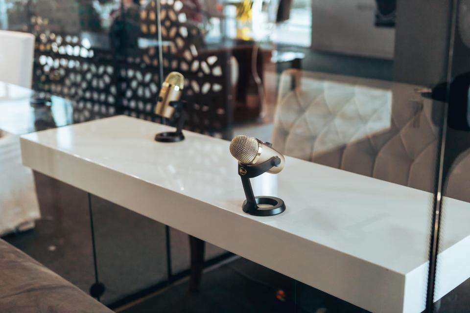 Cimone Key Studio's ″The JukeBox″ Podcast Booth.