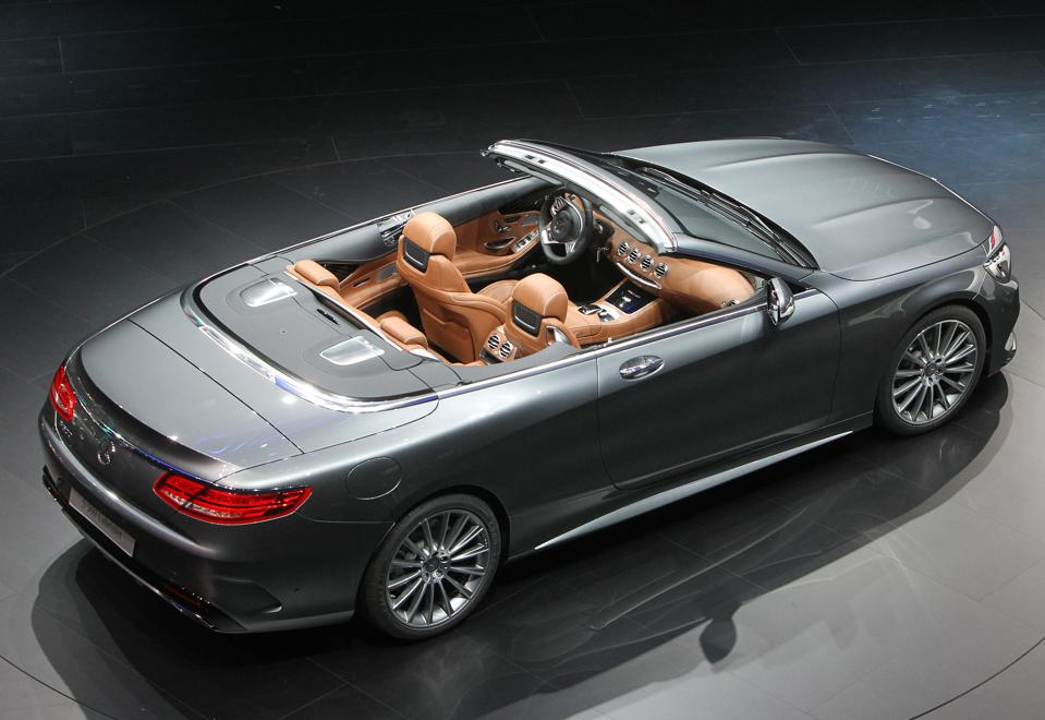 The Mercedes-Benz S-class cabriolet -- DANIEL ROLAND/AFP via Getty Images