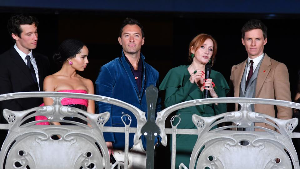 ″Fantastic Beasts: The Crimes Of Grindelwald″ World Premiere At UCG Bercy In Paris