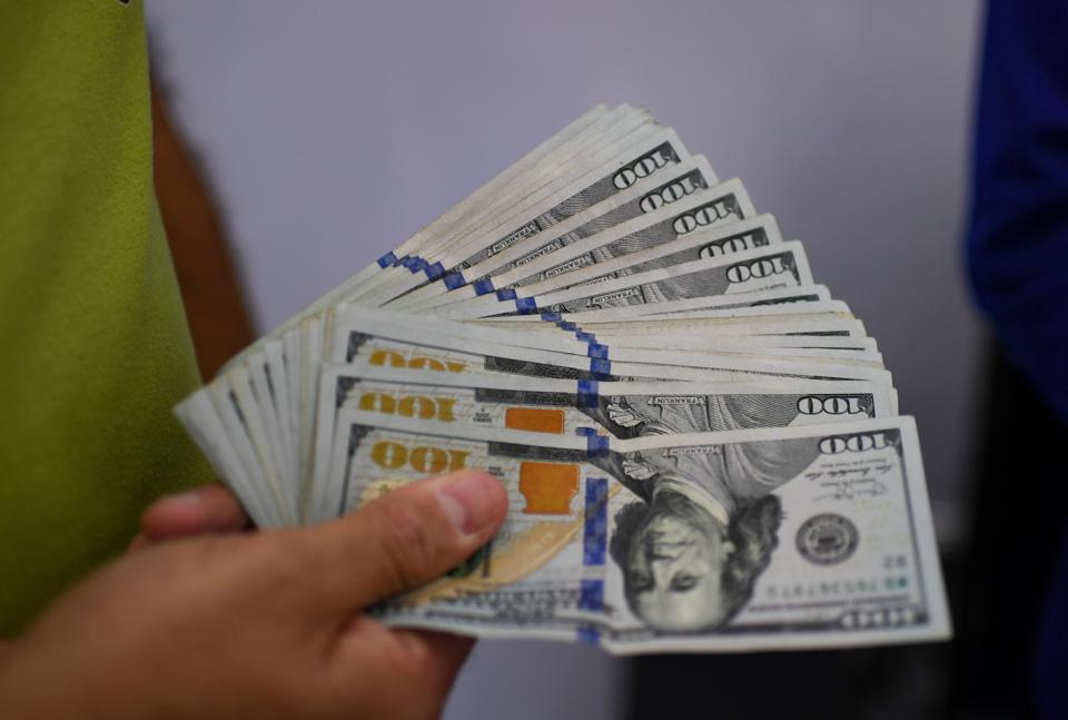 U.S. $100 bills.
