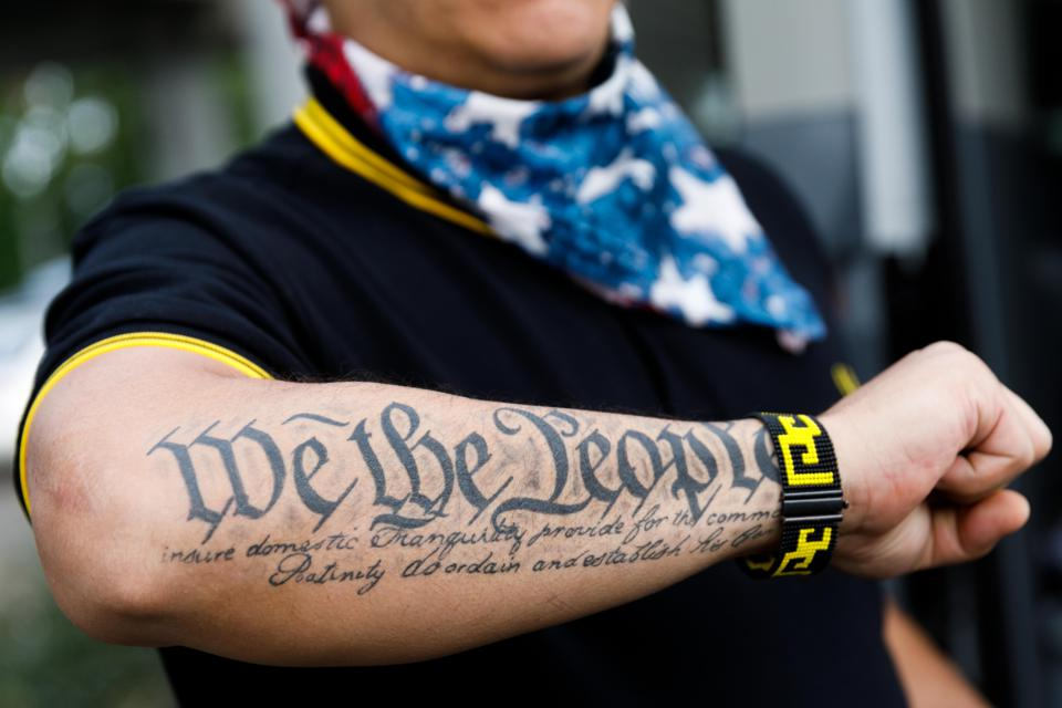 US-PROTEST-FAR RIGHT