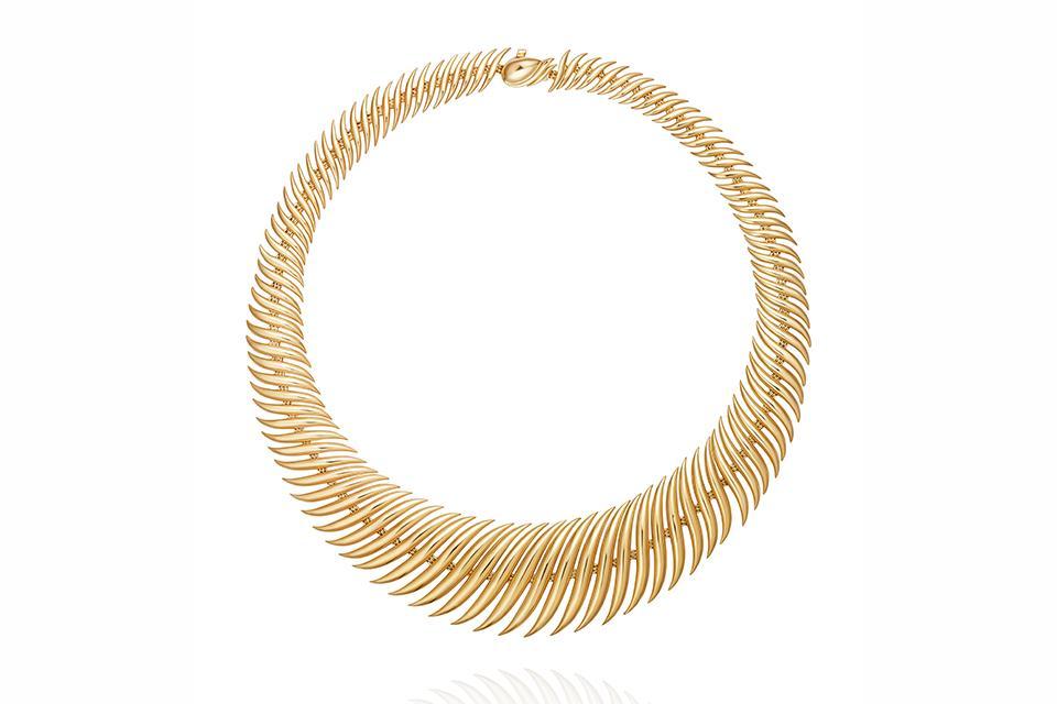 Fernando Jorge Flame necklace in 18K yellow gold, $35,000, net-a-porter.com