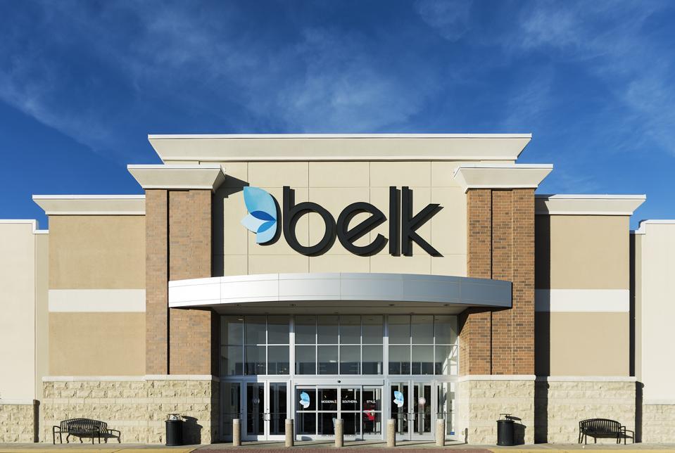 Belk department store exterior...