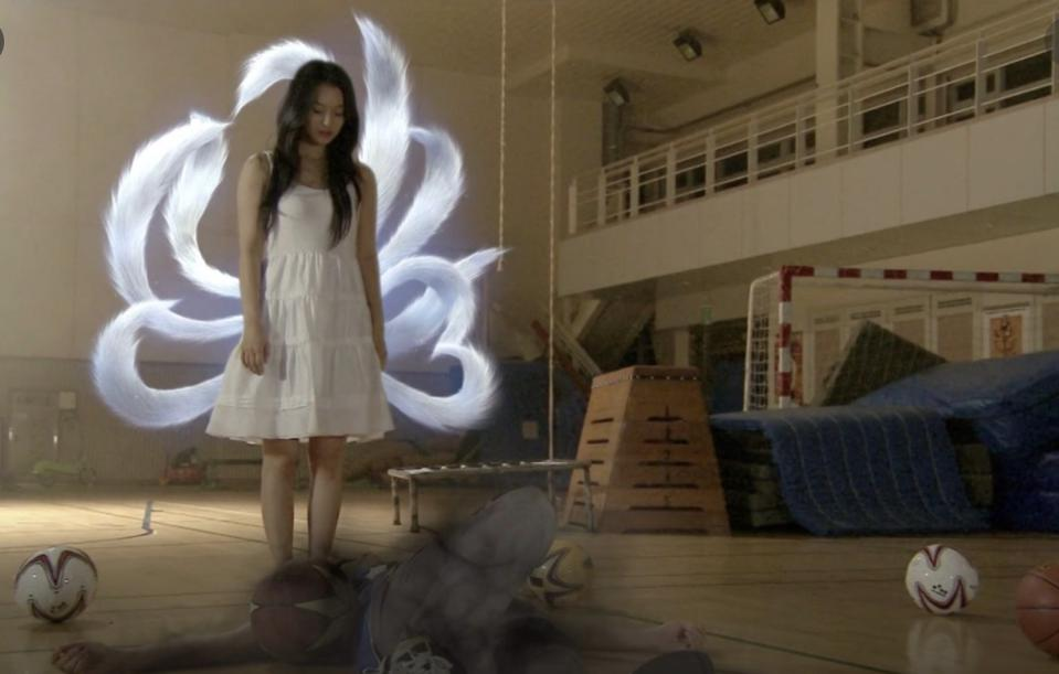Shin Min-ah is a gumiho or nine-tailed fox in 'My Girlfriend Is A Gumiho.'