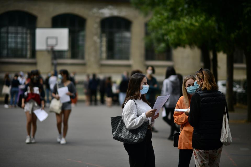 FRANCE-EDUCATION-HIGH SCHOOL-BACCALAUREATE