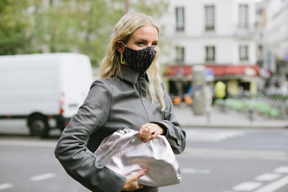 Street Style At Paris Fashion Week - Womenswear Spring Summer 2021 : Day Three