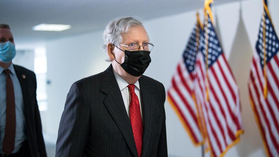 Republican Senators Hold Closed Luncheon Meeting