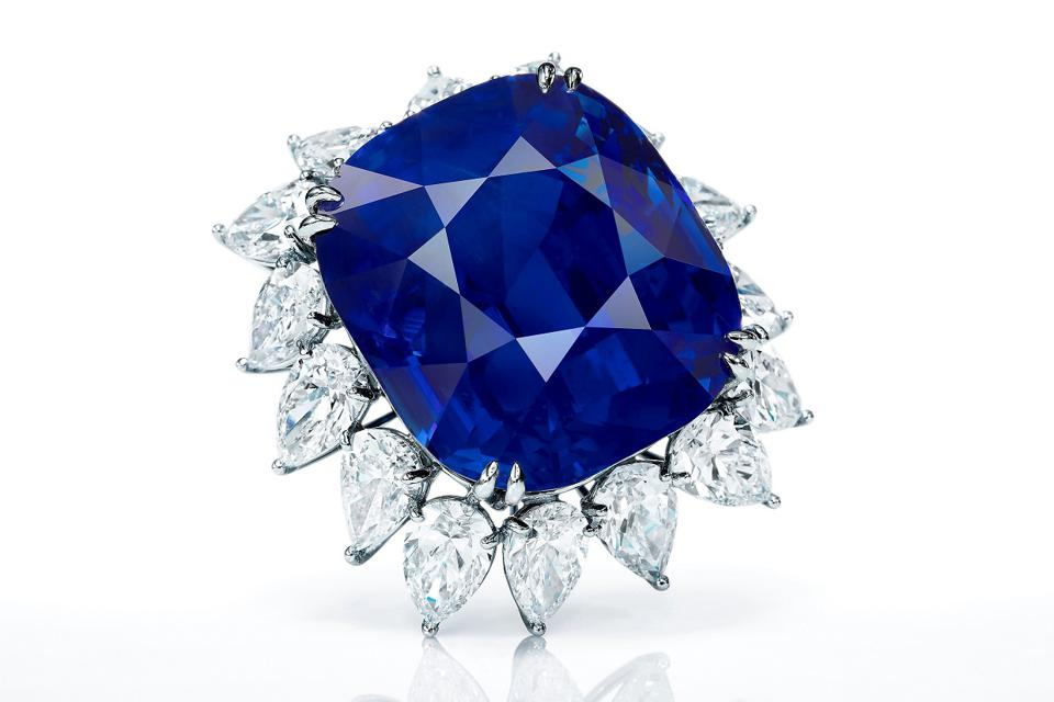 118.88-Carat 'royal blue' sapphire could be the top lot at Sotheby's Hong Kong Auction