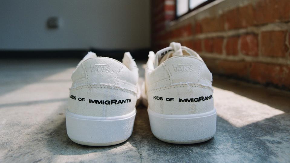 Kids Of Immigrants x Vans collaboration.