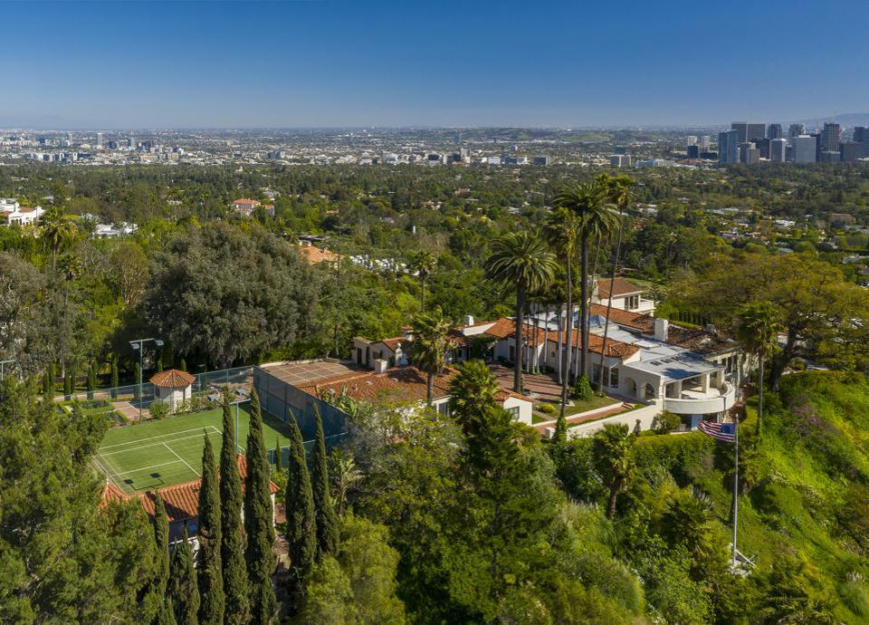 LeBron James home Los angeles