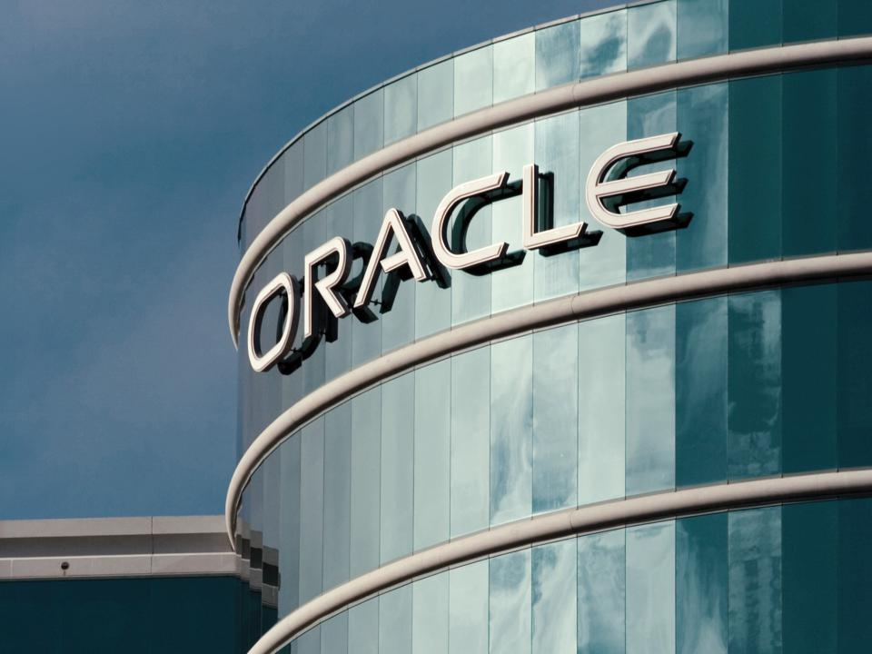 Oracle Corporate Redwood Shores Sign