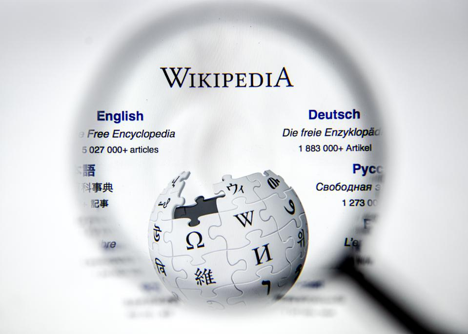 Wikipedia is the world's 8th most visited internet site and relies entirely on volunteers and contributions