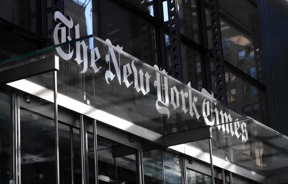 New York Times Headquarters in New York City