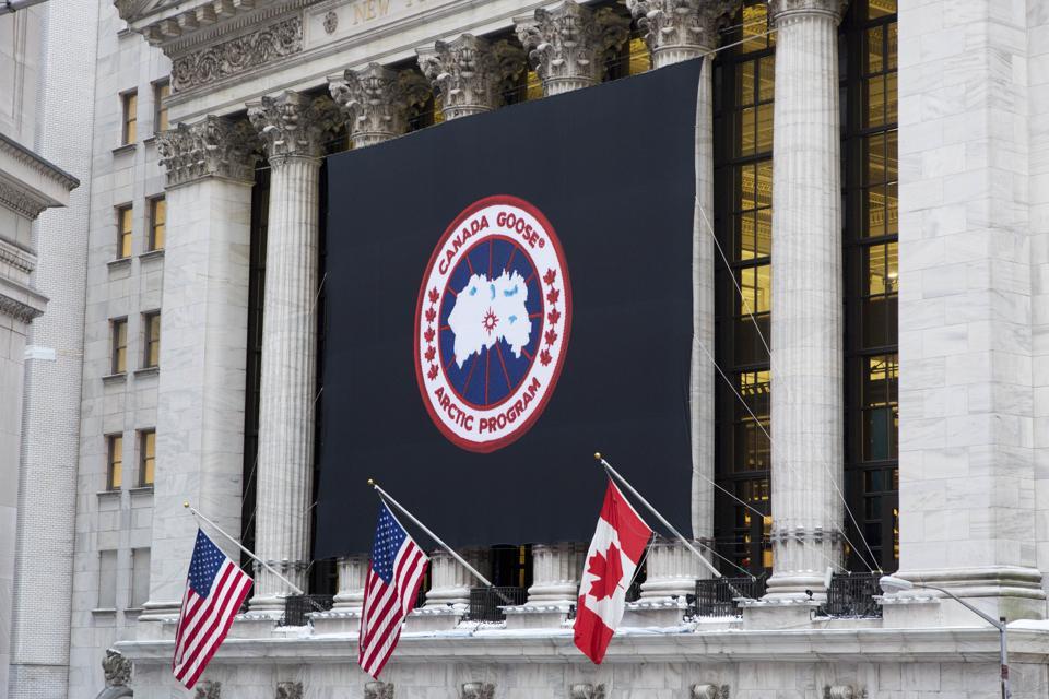 Financial Markets Canada Goose IPO